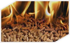 Combustão de Pellets